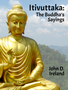 Cover of Itivuttaka by John D Ireland