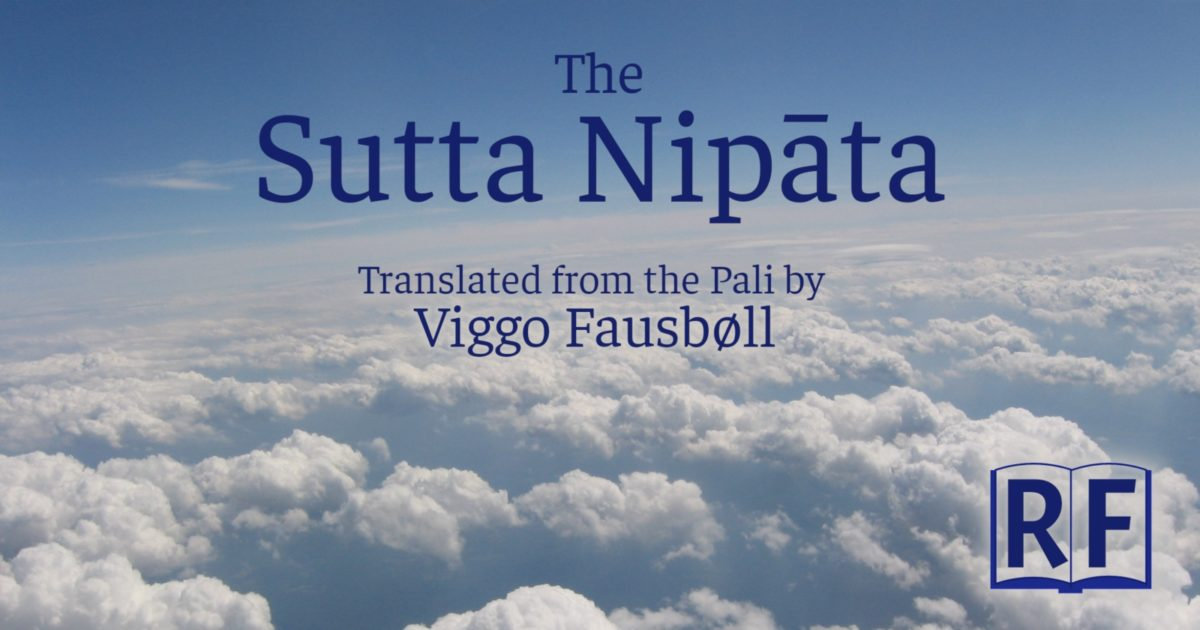 Sutta Nipata: translated by Viggo Fausböll, Free Kindle, Epub